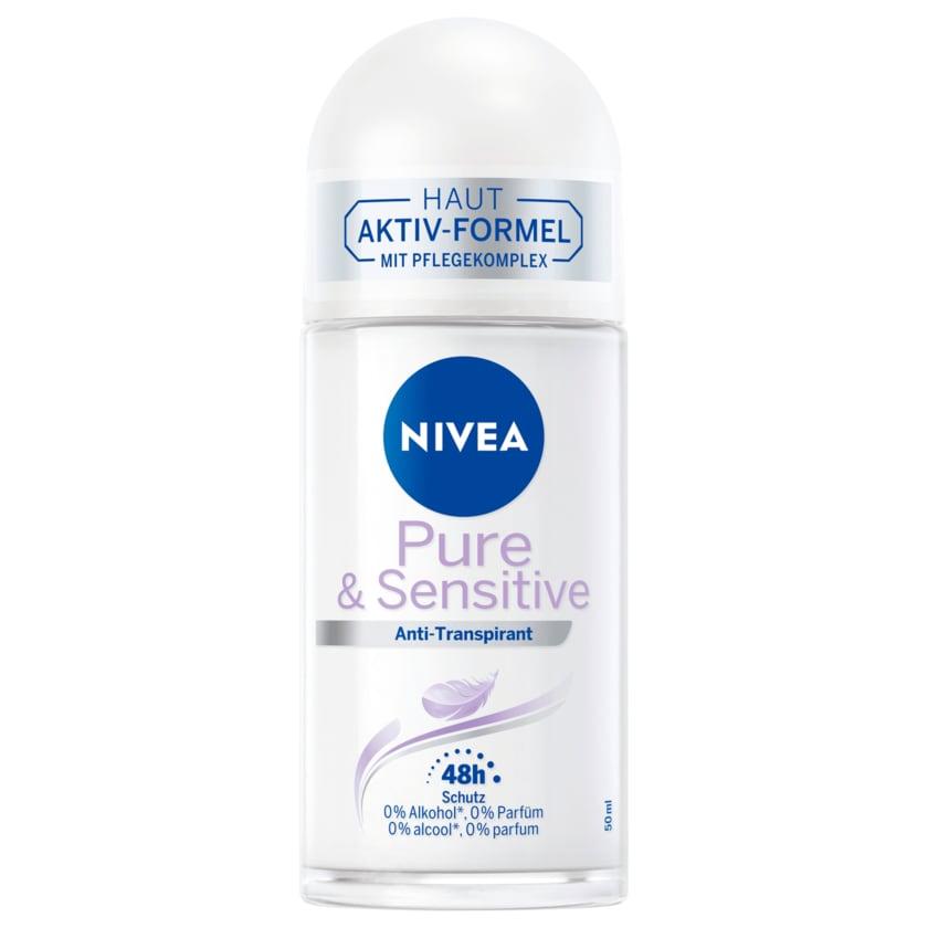 Nivea Deo Roll-On Pure & Sensitive 50ml