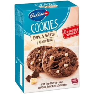 Bahlsen Cookies Dark & White Chocolate 150g