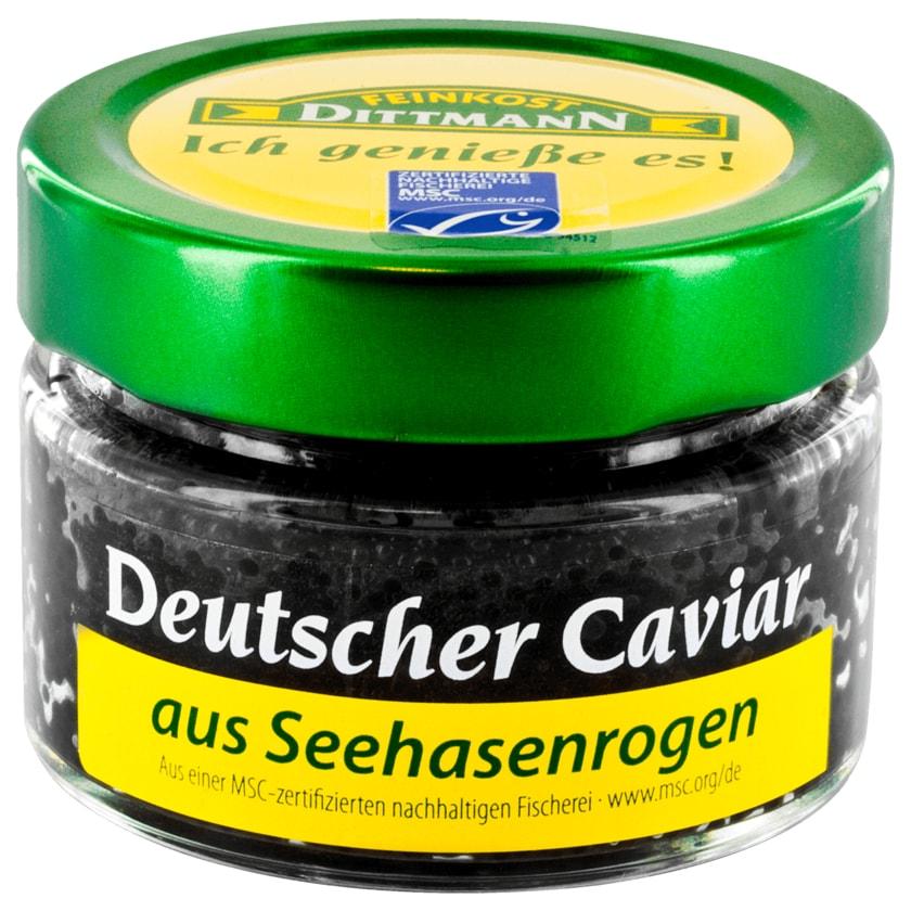 Feinkost Dittmann Deutscher Caviar aus Seehase MSC 100g