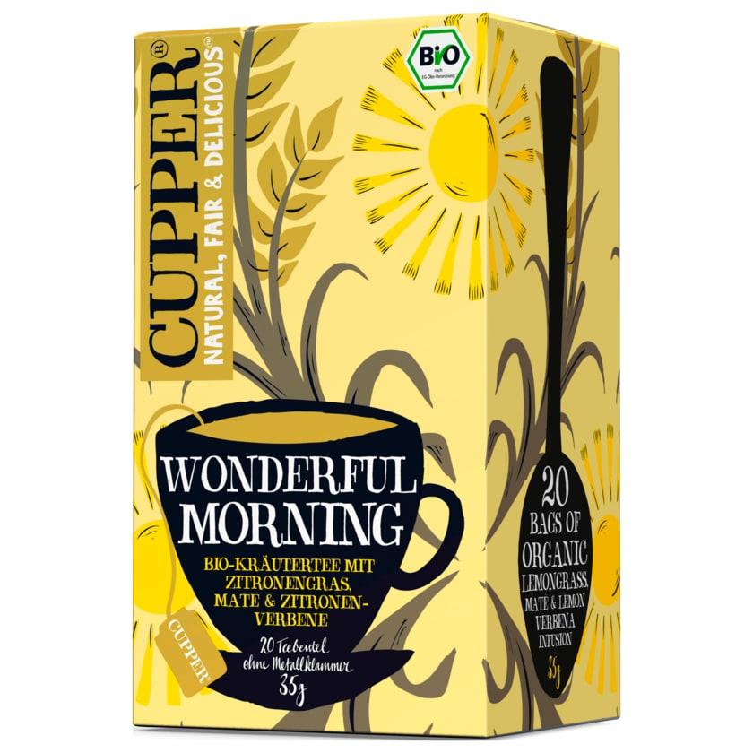 Cupper Wonderful Morning Bio 35g, 20 Beutel