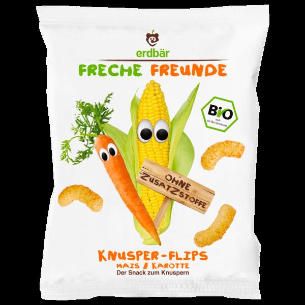 Erdbär Freche Freunde Knusper-Flippies Mais 25g