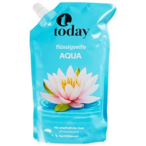 Today Nachfüller Aqua Seife 750ml