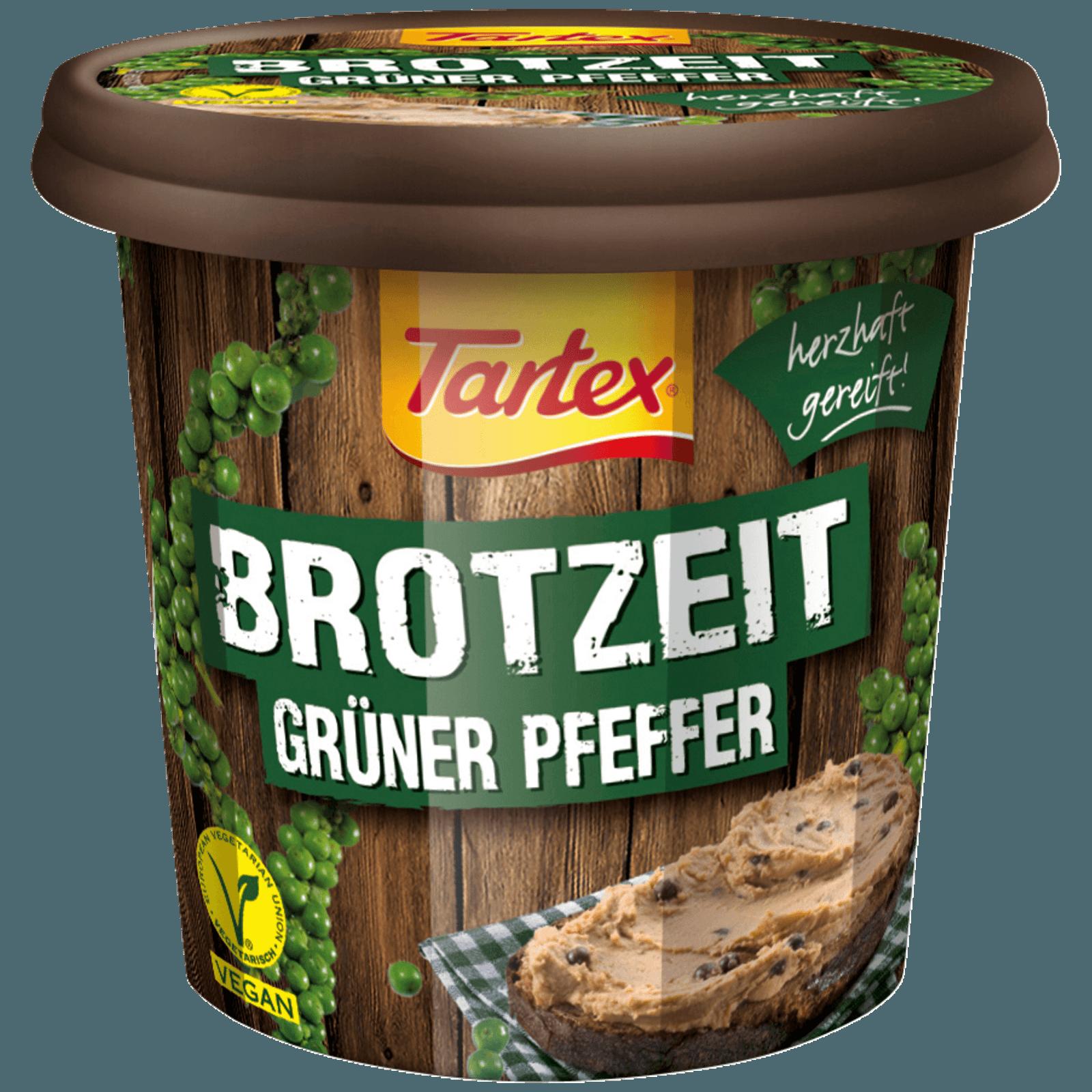 Tartex Brotzeit grüner Pfeffer 125g