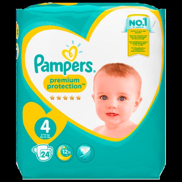 Pampers Premium Protection Gr.4 9-14kg 24 Stück