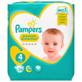 Pampers Premium Protection Gr.4 Maxi 9-14kg 24 Stück