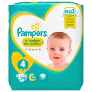 Pampers Premium Protection Gr. 4 Maxi 8-16kg, 24 Stück