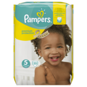 Pampers Premium Protection Gr. 5 Junior 11-23kg 20 Stück