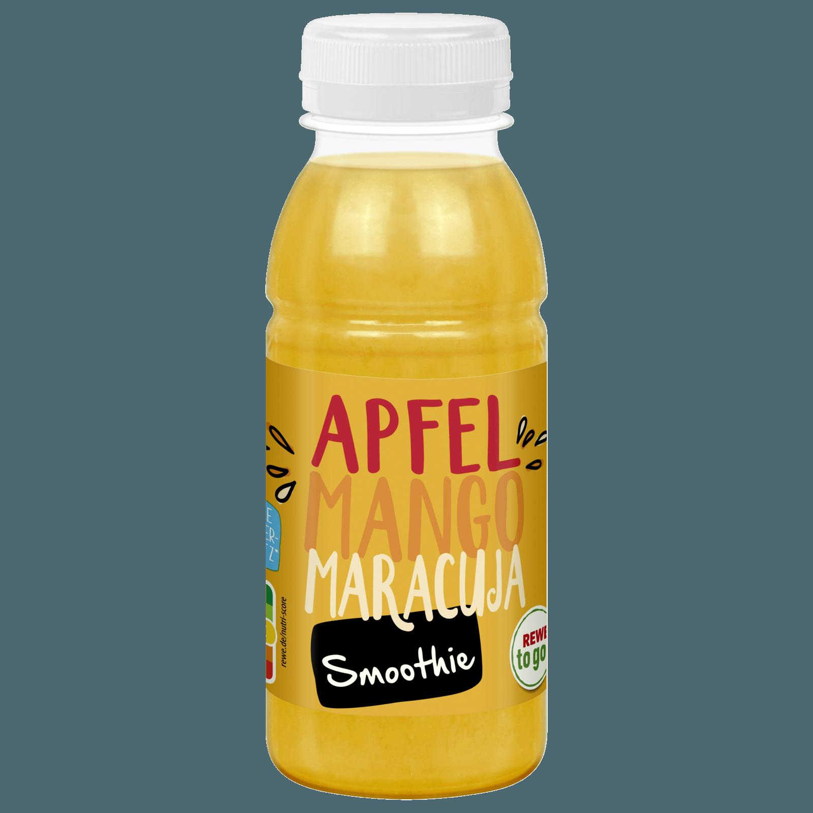 REWE to go Apfel-Mango-Maracuja Smoothie 250ml