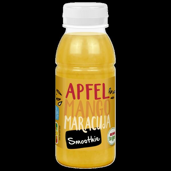 REWE to go Pfirsich-Mango-Maracuja Smoothie 250ml