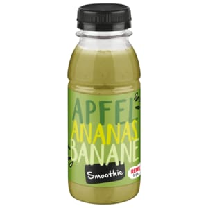 REWE to go Apfel-Ananas-Spinat Smoothie 250ml