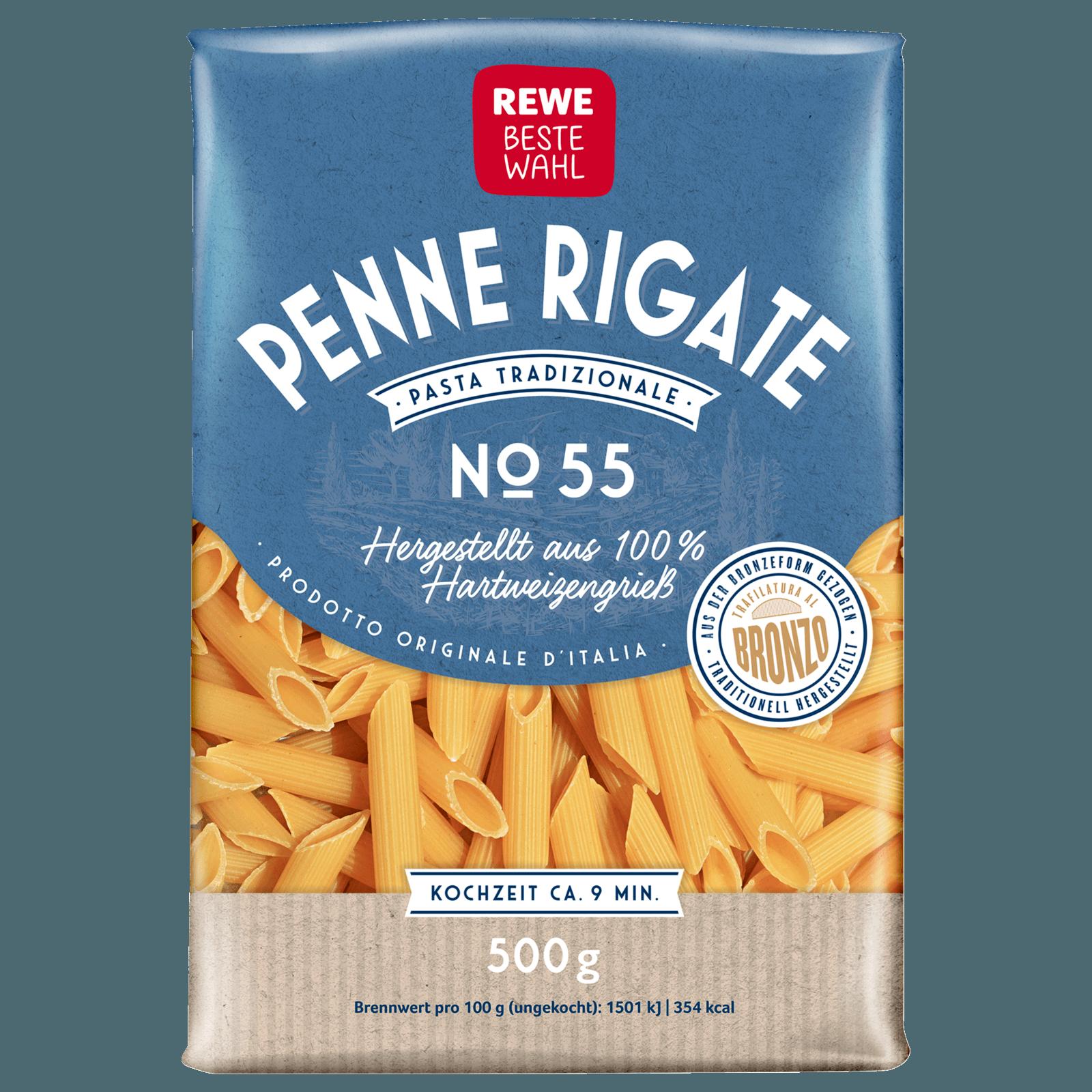 REWE Beste Wahl Penne Mezzane Rigate 500g