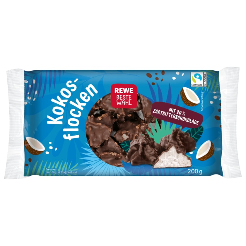 REWE Beste Wahl Kokosflocken 200g