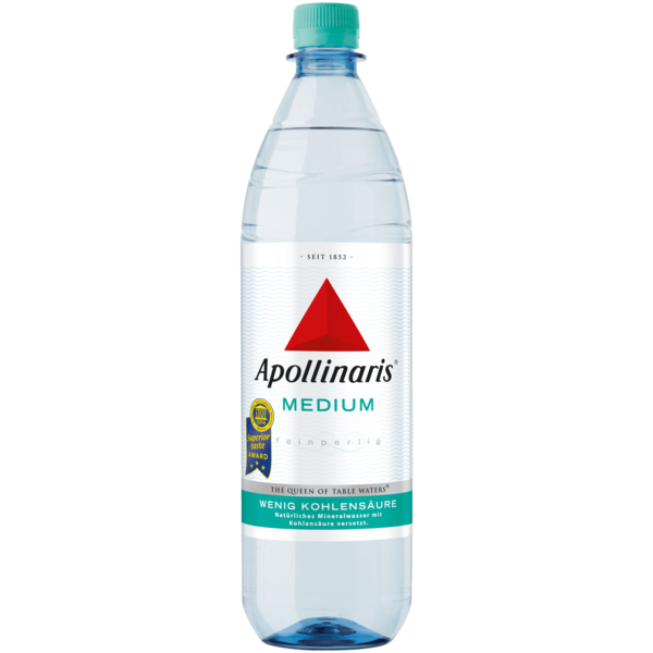 Apollinaris Mineralwasser Medium 1l
