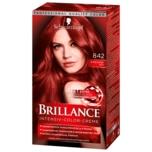 Schwarzkopf Brillance Intensiv-Color-Creme 842 Kaschmir-Rot 143ml