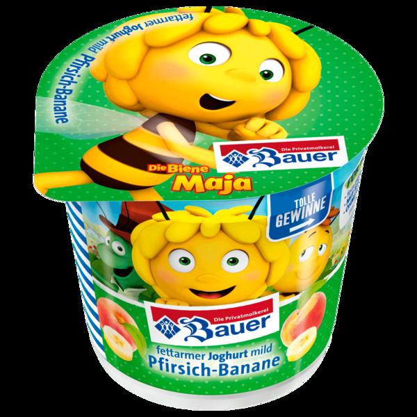 Bauer Kinderjoghurt Pfirsich-Banane 125g