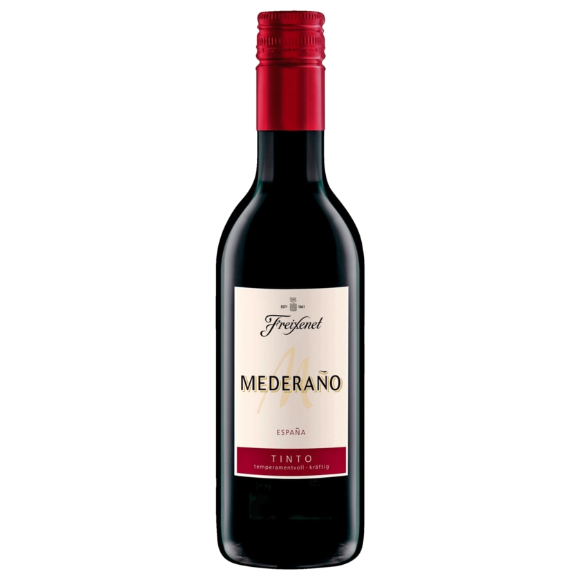 Freixenet Rotwein Mederano Tinto halbtrocken 0,25l