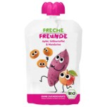 Erdbär Freche Freunde Bio 100% Apfel, Süßkartoffel & Mandarine 100g