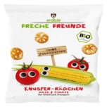 Erdbär Freche Freunde Bio Knusper-Rädchen Mais & Tomate 25g