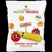 Erdbär Freche Freunde Knusper-Rädchen Mais & Tomate 25g