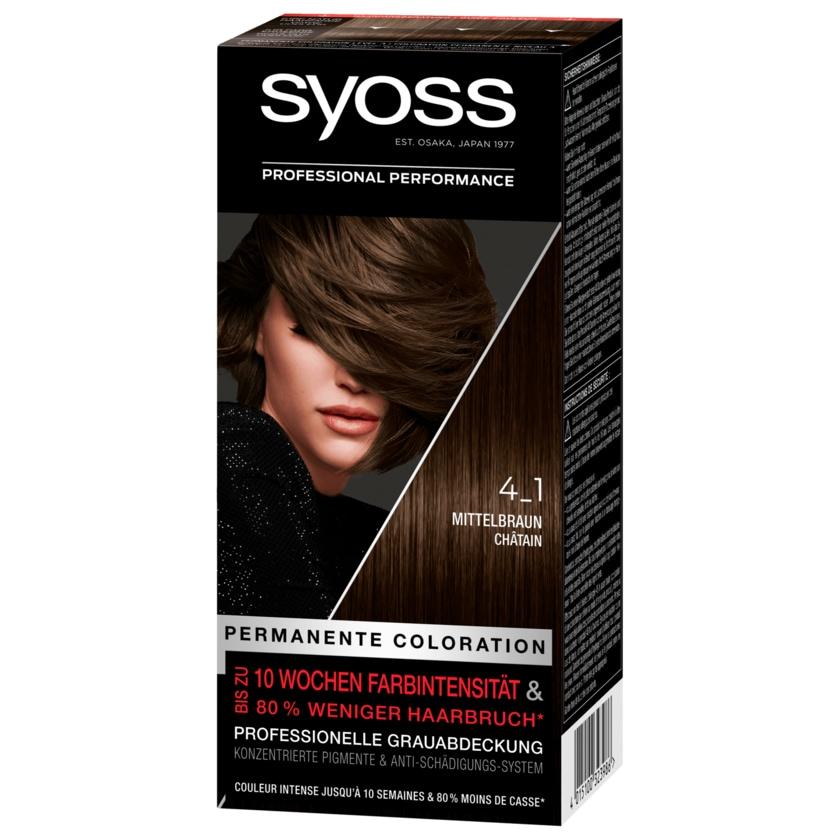 Syoss Permanente Coloration 4-1 Mittelbraun 1 Stück