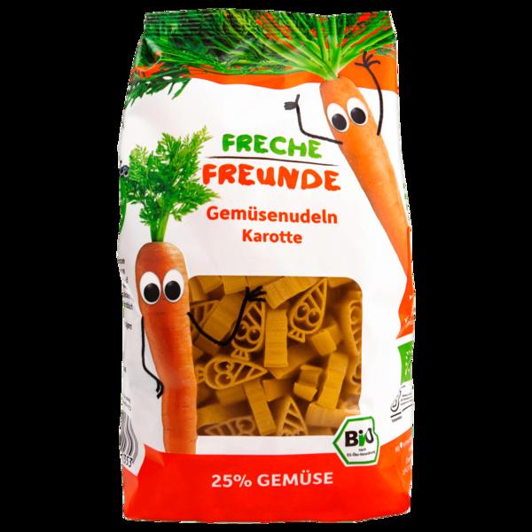 Erdbär Freche Freunde Bio Gemüsenudeln Karotte 300g