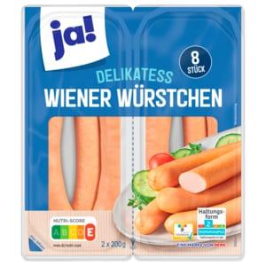 ja! Wiener Würstchen 8x50g