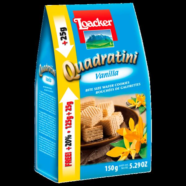 Loacker Quadratini Vanille 150g
