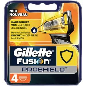 Gillette Fusion ProShield Klingen Hautschutz 4 Stück