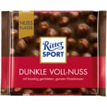 Ritter Sport Dunkle Vollnuss 100g
