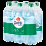 Franken Brunnen Mineralwasser medium 6x0,75l