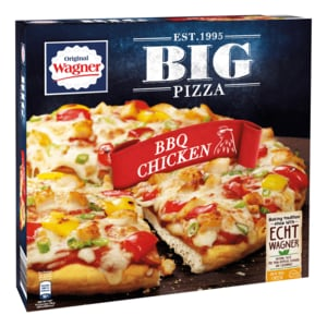 Original Wagner Big Pizza BBQ Chicken 425g