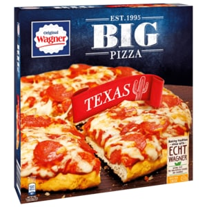 Original Wagner Big Pizza Texas 400g