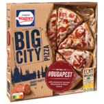 Original Wagner Big City Pizza Budapest Peperoniwurst tiefgefroren 400g