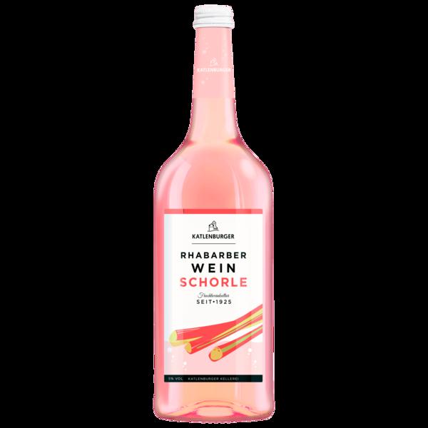 Katlenburger Rhabarberwein Schorle 1l