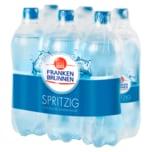 Franken Brunnen Mineralwasser spritzig 6x0,75l