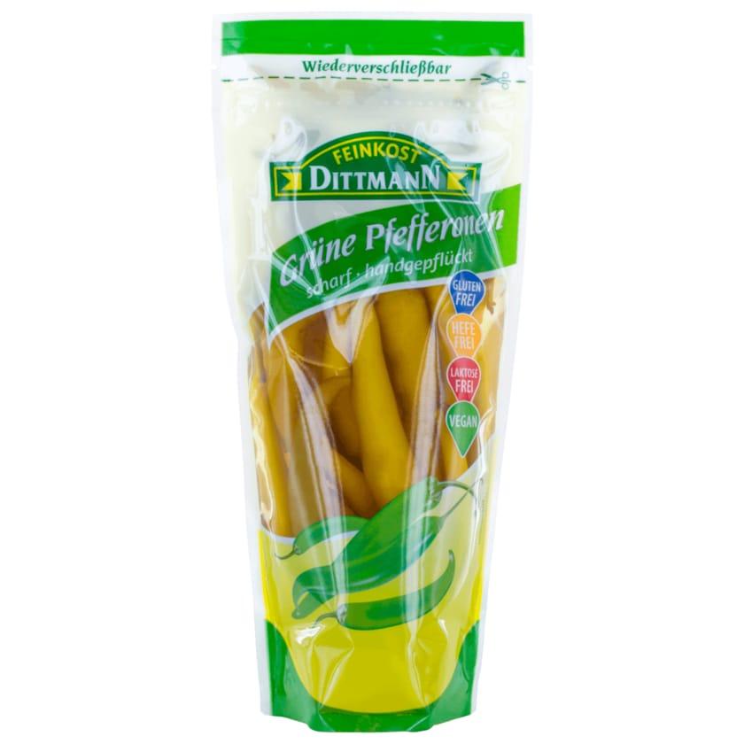 Feinkost Dittmann grüne Pfefferonen scharf 500g