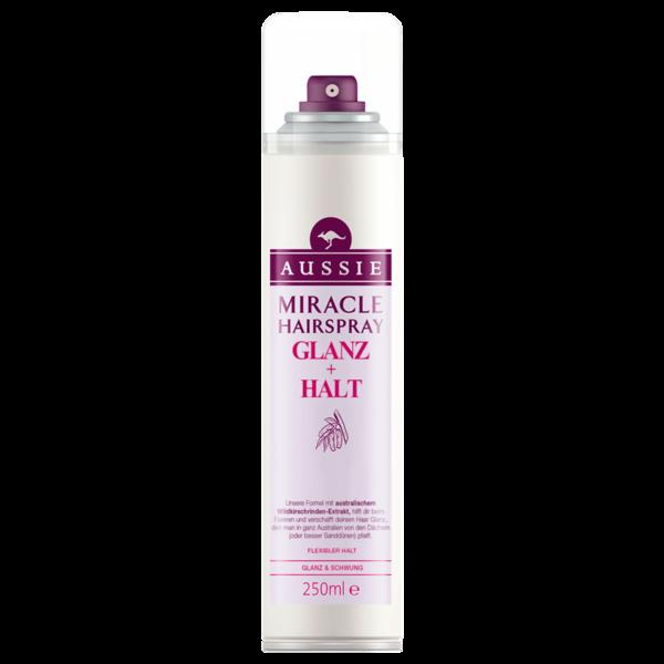 Aussie Miracle Haarspray Glanz & Halt 250ml