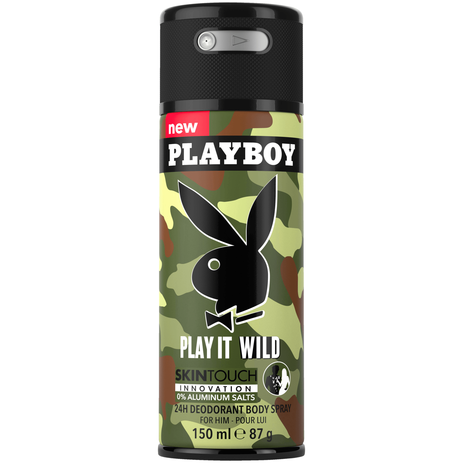 Playboy Deospray Play it wild Men 150ml