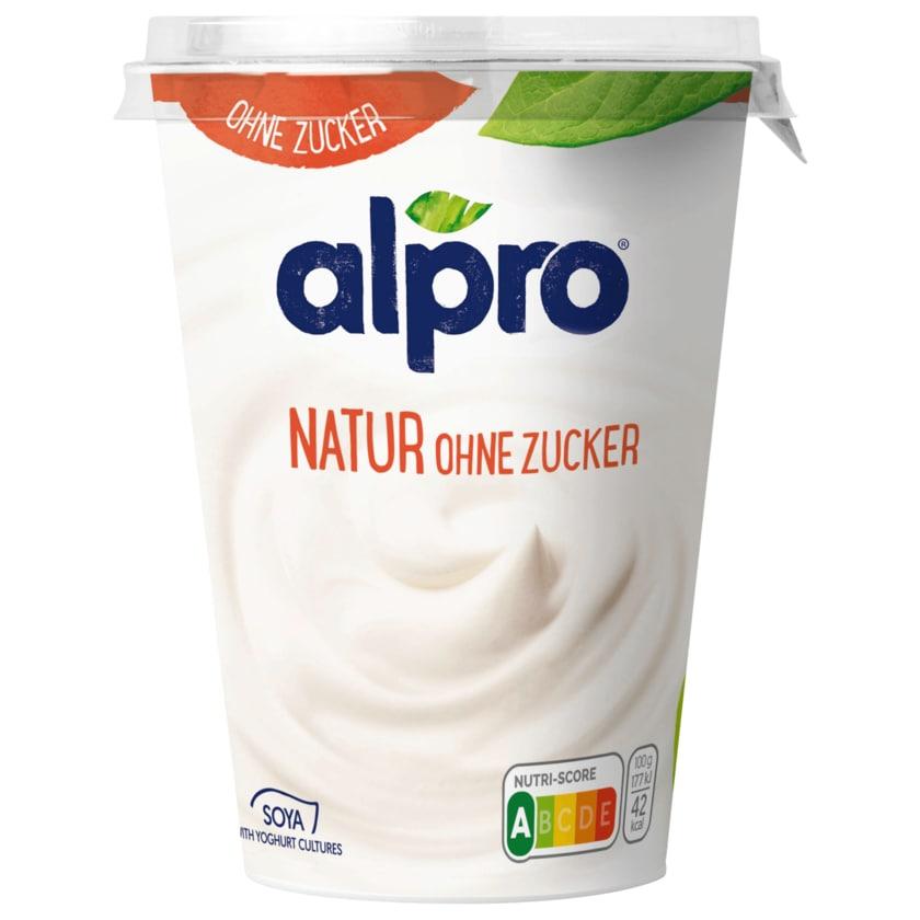 Alpro Soja Joghurtalternative Natur Ungesüßt vegan 500 g