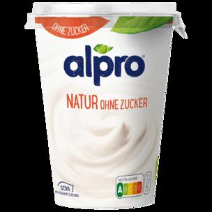 Alpro Soja-Joghurtalternative Natur Ungesüßt vegan 500 g