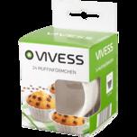 Vivess Muffinförmchen 24 Stück