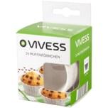 Vivess Muffinförmchen 50x32mm 24 Stück
