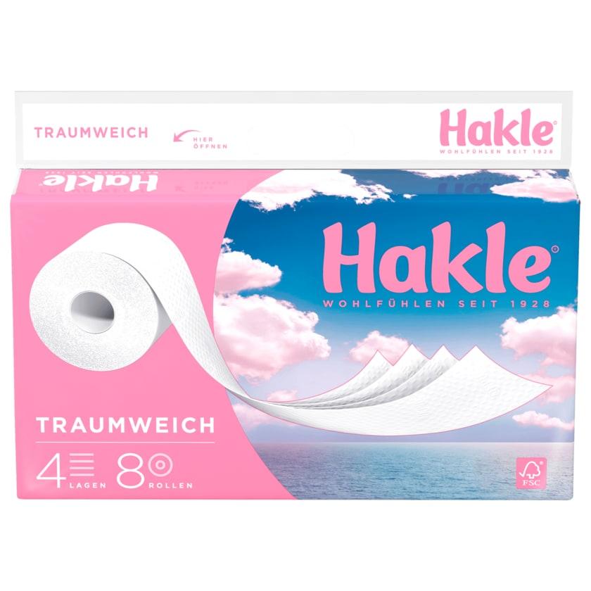 Hakle Traumweich 4-lagig 8x130 Blatt