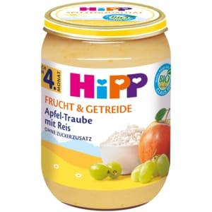 Hipp Frucht & Getreide Apfel-Traube mit Reis 190g