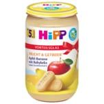 Hipp Bio Frucht & Getreide Apfel-Banane mit Babykeks 250g