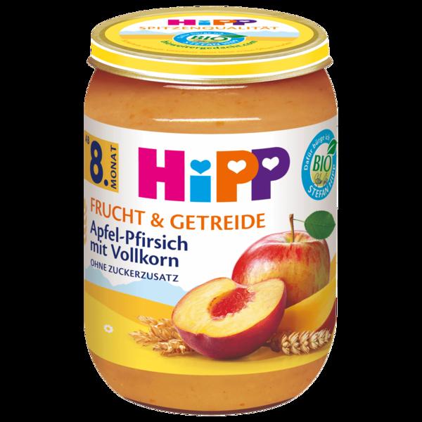 Hipp Bio Frucht & Getreide Apfel-Pfirsich mit Vollkorn 190g