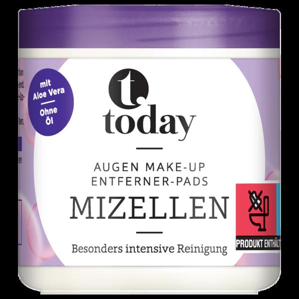 Today Augen Make-up Entferner Pads Mizellen 100 Stück
