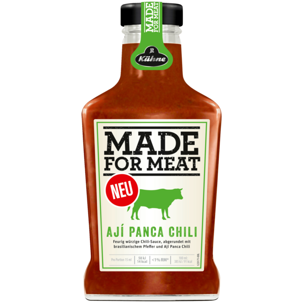 Kühne Made for Meat Ají Panca Chili 375ml