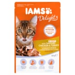 Iams Delights Adult 1+ Huhn & Pute in Sauce 85g