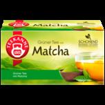 Teekanne Grüner Tee Matcha 35g, 20 Beutel